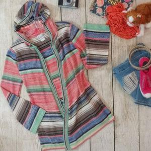 American Rag hooded cardigan/duster